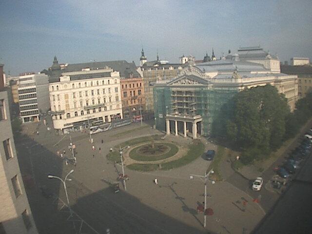 Brno Live Cam, Czech – Malinovsky Square